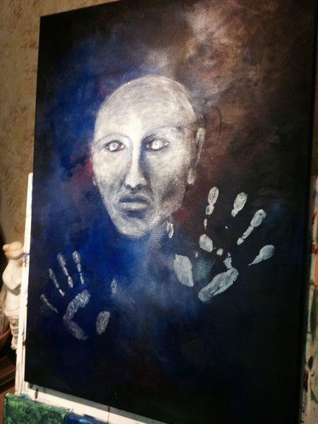 Fantasie, Acrylmalerei, Surreal, Malerei