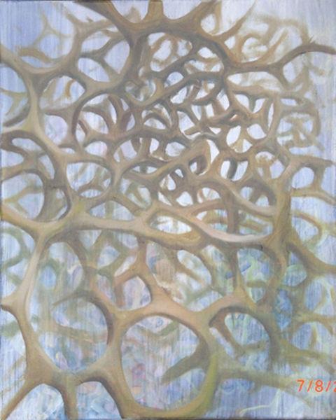 Fraktalkunst, Knoten, Surreal, Blumen, Mycel, Landschaft