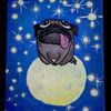 Weltall, Universum, Funkeln, Hund