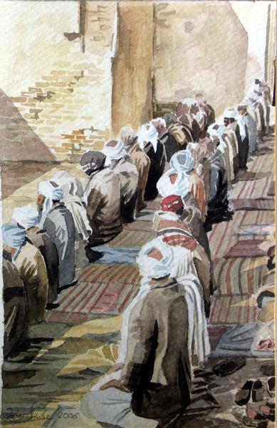Moselm, Orient, Arabien, Islam, Gebet, Araber