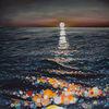 Reflexion, Acrylmalerei, Meer, Sonne