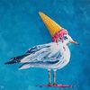 Tiere, Acrylmalerei, Eis, Speiseeis