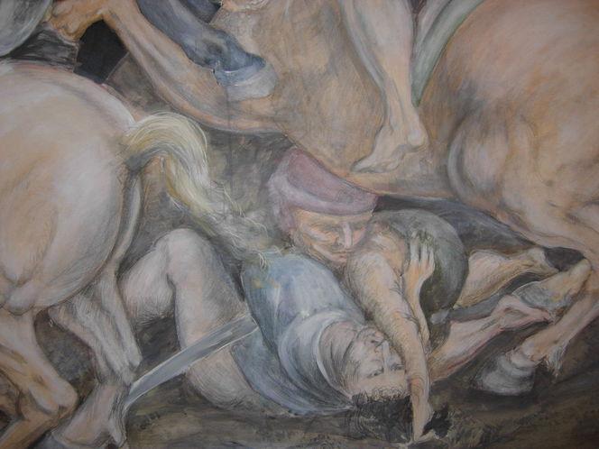 Kampf, Malerei, Ausschnitt