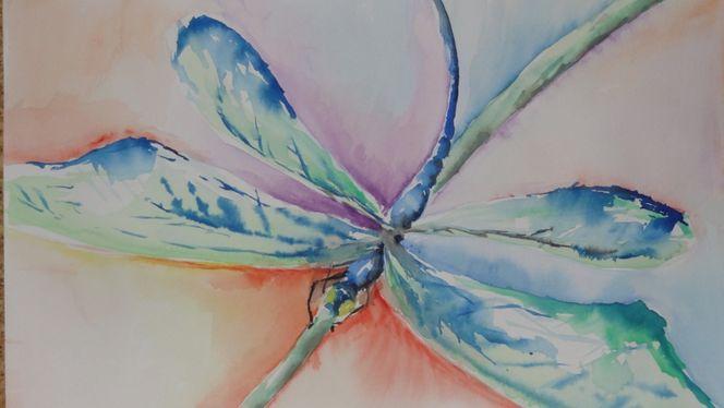 Malerei, Libelle