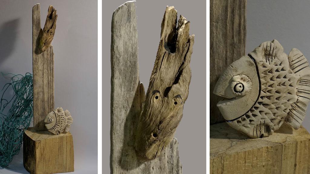 bild driftwood treibholz dekoration fischer von. Black Bedroom Furniture Sets. Home Design Ideas