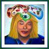 Acrylmalerei, Malerei, Modern, Traum
