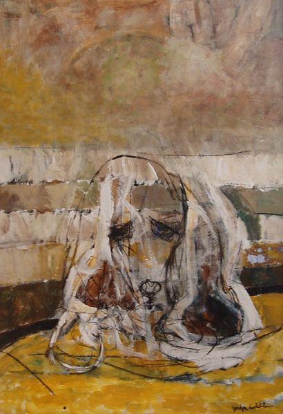 Hell, Hund, Lustig, Malerei, Abstrakt