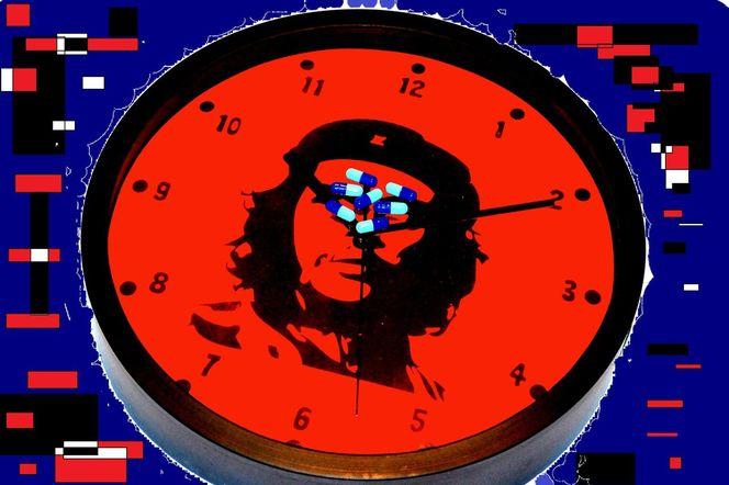 Viereck, Messen, Uhr, Che, Zeit, Pille