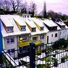 Vorstadt2, Winter, Landschaft, Häuser