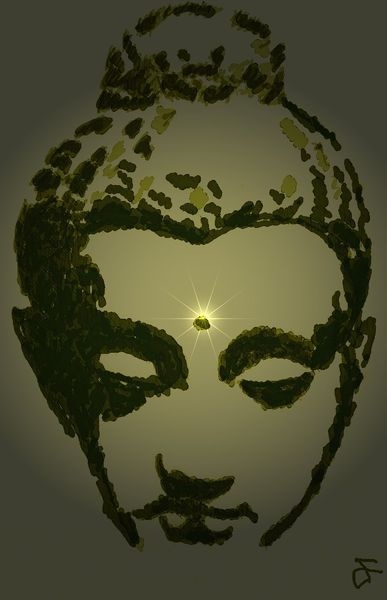 Digitale kunst, Buddha