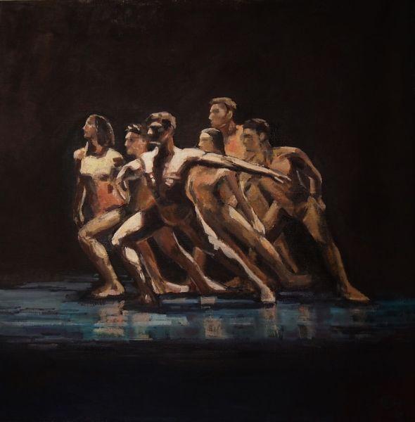 Person, Ölmalerei, Menschen, Impressionismus, Tanz, Expressionismus