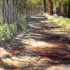 Sonne, Landschaft, Schatten, Malerei