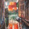 Spiegelung, Venedig, Landschaft, Stadtlandschaft