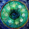 Grün, Melodie, Blau, Mandala