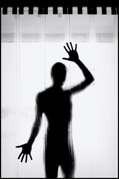 Schwarz weiß, Körper, Silhouette, Fotografie