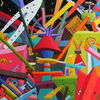 Chaos, Acrylmalerei, Malerei, Phantasiebilder