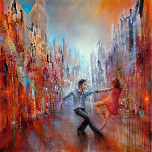 Tango, Lebensfreude, Hell, Salsa, Straße, Freude