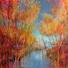 Lebensfreude, Farben, Landschaft, Wald