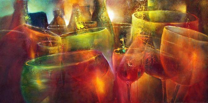 Feier, Glas, Stimmung, Partei, Geburtstag, Glückwunsch