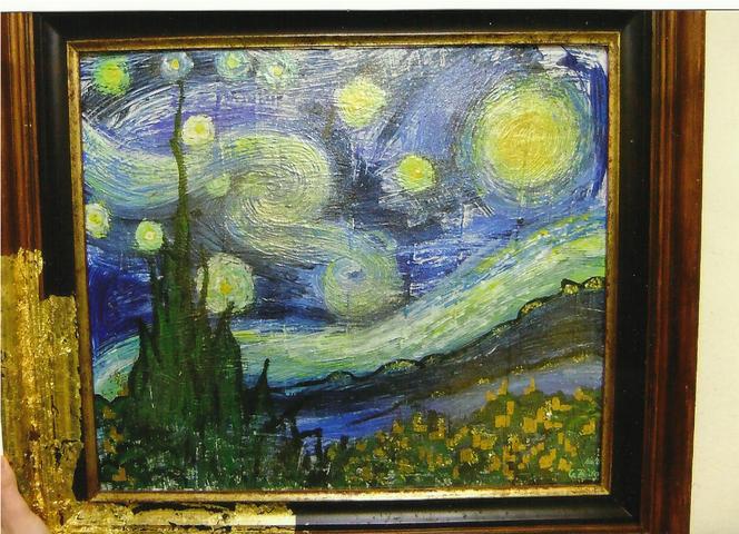 Sternacht von gogh, Malerei, Gogh
