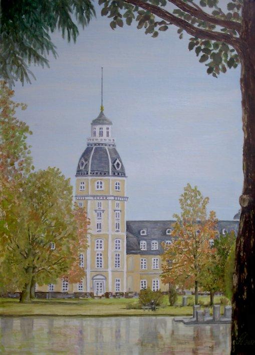 Bild schlosspark karlsruhe malerei architektur von - Architektur karlsruhe ...