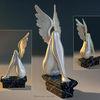 Skulptur, Engel, Frau, Flügel