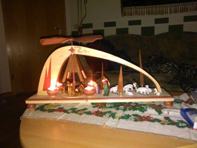 Weihnachten, Erzgebirge, Kunsthandwerk, Tradition, Krippe, Pyramide