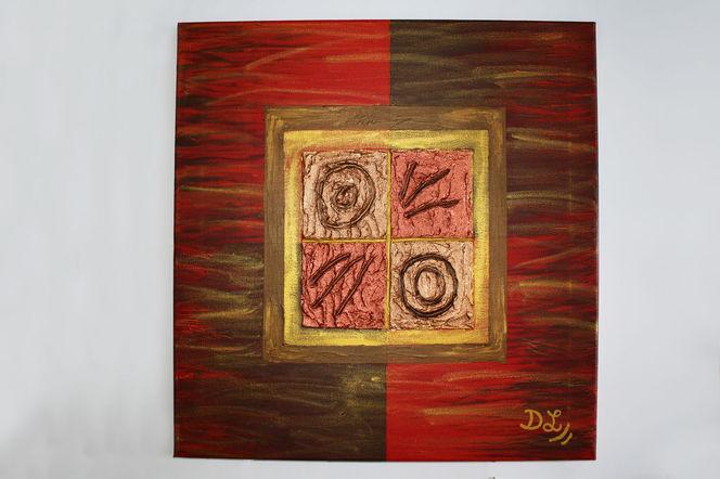 Modern, Rot, Bronze, Abstrakt, Struktur, Gold