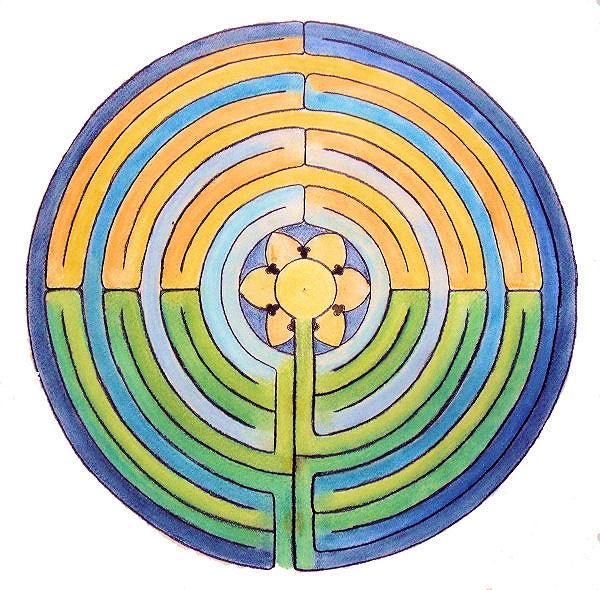 Das Verrückte Labyrinth Leuchtend