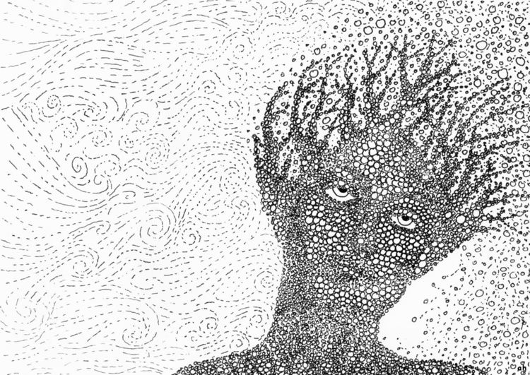 Sturm, Gedanken, Melancholie, Illustrationen