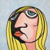Frau, Himmel, Blond, Zeichnungen