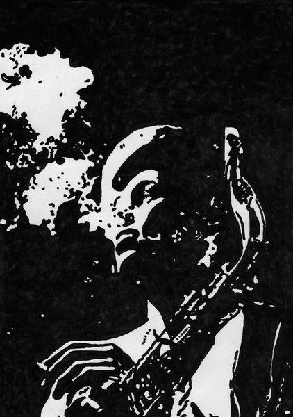 Jazz, Dexter gordon, Sax, Rauchen, Misty, Zeit