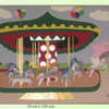 Money go around - Merry go around, money go around, gaby bertram, Bremen, künstlerin, Collagen,