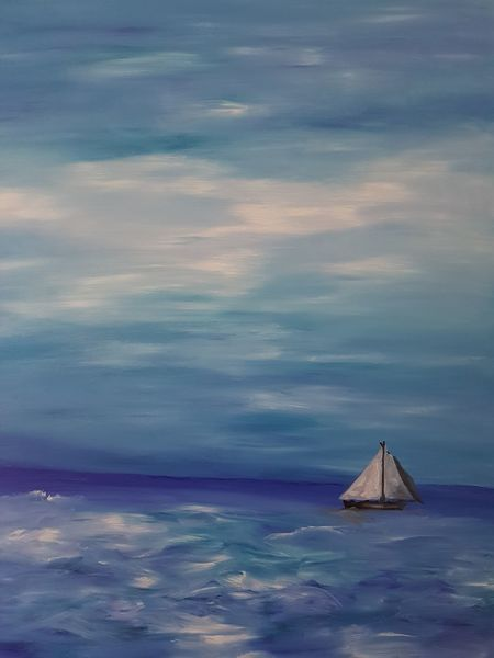Himmel, Welle, Segel, See, Blau, Boot
