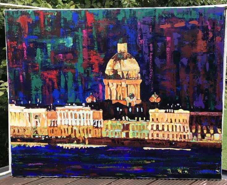 Farben, Modern, Acrylmalerei, Malerei, Landschaft, Abstrakt