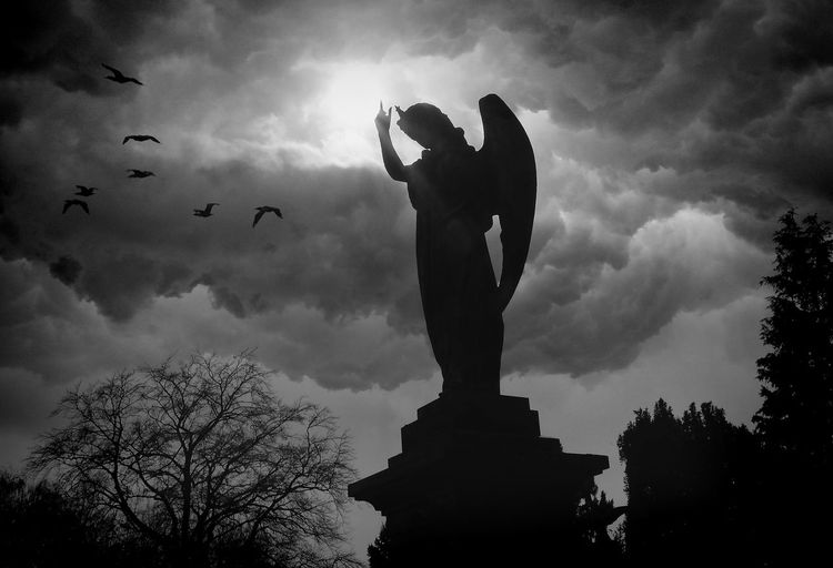 Friedhof, Fotografie, Engel