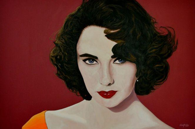 Popart, Acrylmalerei, Portrait, Realismus, Köln, Malerei