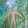 Pflanzen, Blumen, Menschen, Malerei