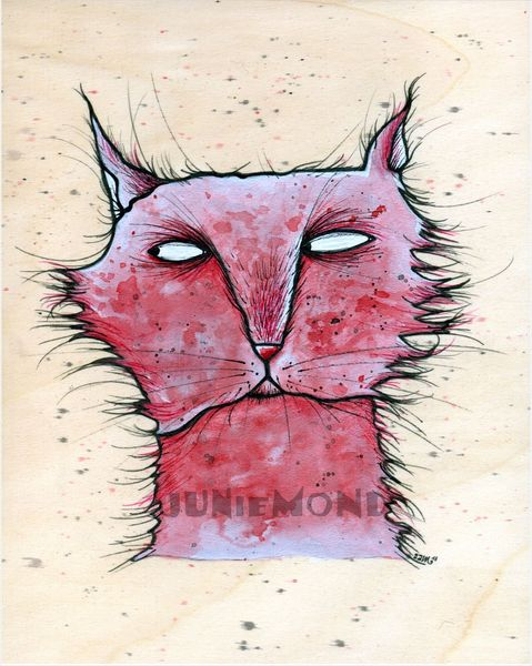 Katze, Fratze, Illustrationen