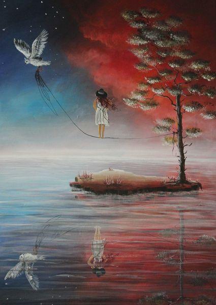 Malerei, Lichtblicke, Traum