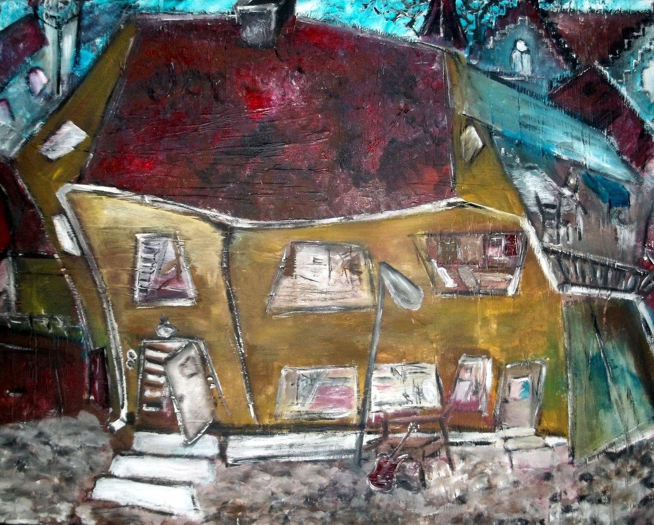 Bild Heim Haus H Tte Abstrakt Von Claudiagrenz Bei