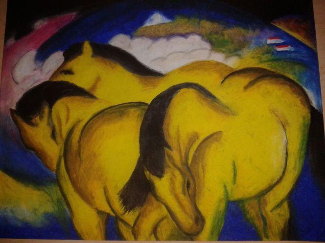 Malerei, Pferde