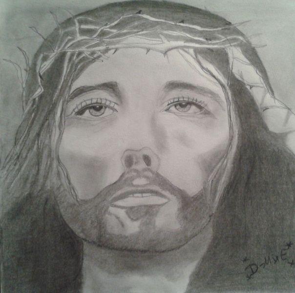 Zeichnungen, Start, Jesus