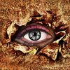 Wimpern, Augen, Abstrakt, Malerei