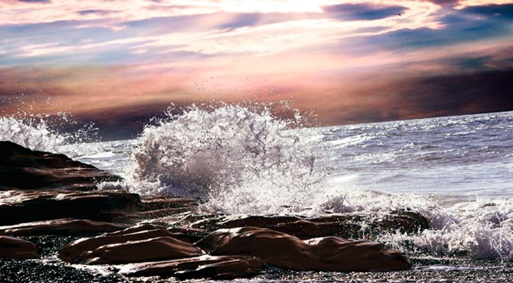 Natur, Wasser, Landschaft, Himmel, Sonne, Ozean