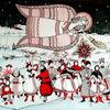 Schnee, Ziegen, Menschen, Mann