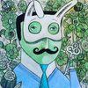 Maske, Schlüssel, Krawatte, Maskerade