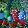Sommer, Stillleben, Früchte, Wassermelonen