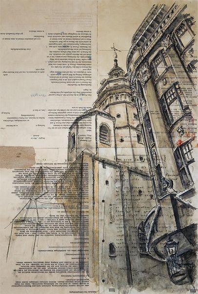 Architektur, Illustrationen, Architektur mensch, Leipzig