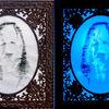 Portrait, Illustration, Illustrationen, Ultraviolet